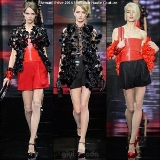 Armani Privé Haute Couture 2014 Sonbahar Defilesi