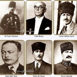 Atatürk'ün Dostları | Yakın Çalışma  Arkadaşları