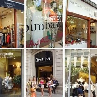 Barcelona'da Alışveriş