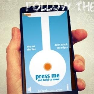 Benim Seçtiğim Android Oyunu: Follow The Line