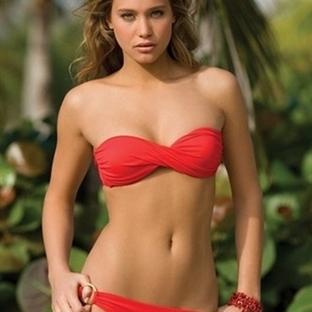 Bikinilerde straplez modası