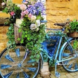 Bisiklet ile Dekorasyon