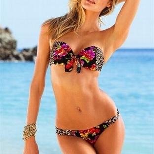 Çiçekli bikini modelleri