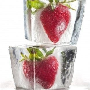 Çiçekli ve Meyveli Buz Küpleri Nasıl Yapılır?