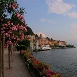 Como Gölü Bellagio Kasabası