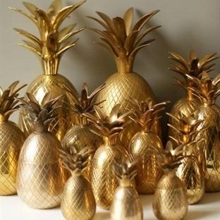 Dekorasyona Ananas İstilası