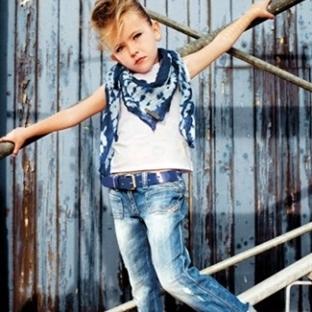 Diesel Kız Çocuk Kot Pantolon ve Kıyafet Modelleri