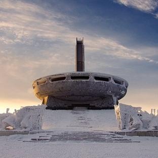 Dünyanın En İlginç Binası: Buzludzha