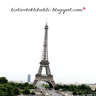 Eiffel Kulesi - PARİS GEZİ YAZI DİZİSİ #5