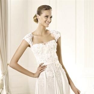 Elbise Gibi Gelinlik Modelleri