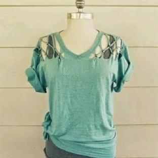 Eski Tişörtlerden Yepyeni Tişört Yapalım