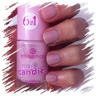 Essence nail candies serisi ojeler