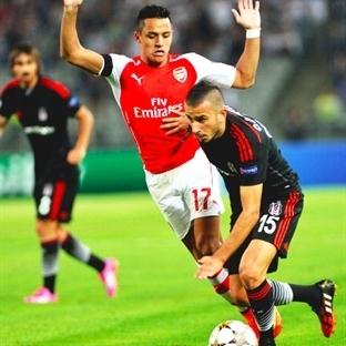 Eve Servis: Beşiktaş 0-0 Arsenal