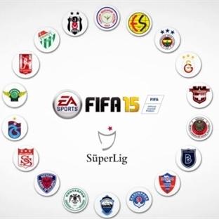 FIFA 15'e Türkiye Ligi Geliyor!