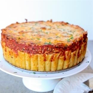 Fırında Makarna Pastası Tarifi