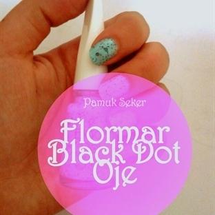 Flormar Black Dot Oje / BD02