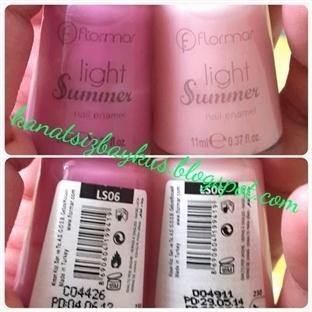 Flormar Light Summer  ile DIY oje