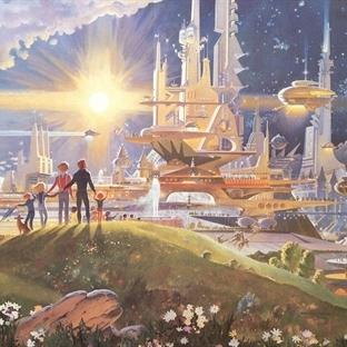 Geleceğin Şehirleri Temalı 10 Görsel Çalışma