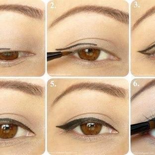 Göz şeklinize uygun eyeliner sürme teknikleri