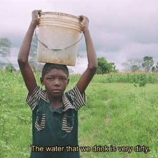 Hayatında ilk Kez Temiz Su İçen Çocuklar
