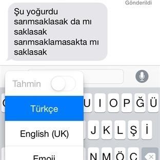 iOS 8′de Türkçe dikte nasıl çalışıyor