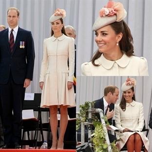 Kate Middleton: Krem Alexander McQueen Manto