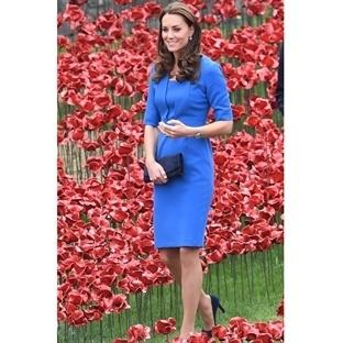 Kate Middleton: LK Bennett Detroit Notch Elbise
