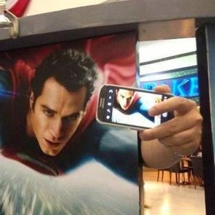 Komik #Selfie Fotoğrafları
