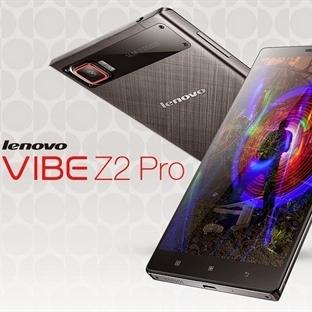 Lenovo Vibe Z2 Pro'yu Duyurdu