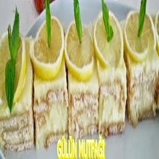 Limon kremalı tatlı