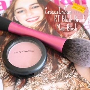Mac Allık Well Dressed ve RT Blush Brush