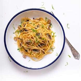 Mantarlı Spagetti