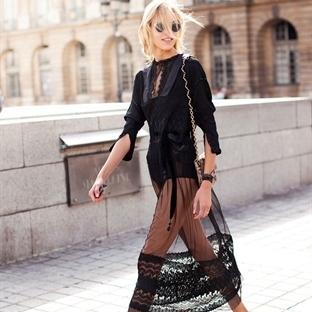Moda: Transparan Etek