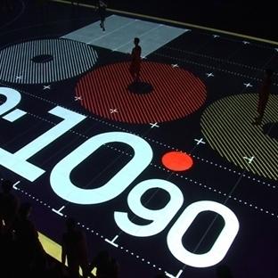 Nike'dan Akıllı LED Basketbol Sahası