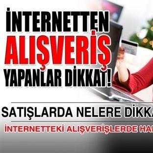 İnternetten Alışveriş Yapanlara Önemli Uyarı