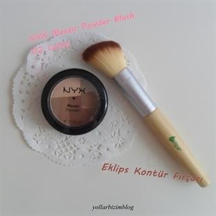 NYX Mosaic Powder Blush (Mozaik Allık) 02 Latte