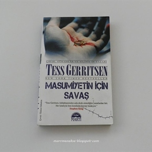 Okudum: Masumiyetin İçin Savaş - Tess Gerritsen