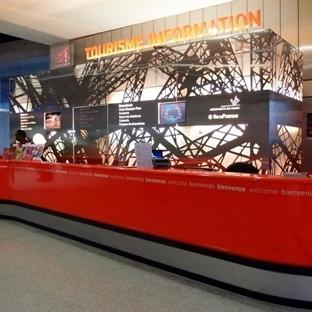 Paris'e Giriş ve Havalimanı Turist Bilgi Bölümü