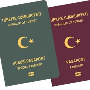 Pasaport kuyruğunda beklemeye son