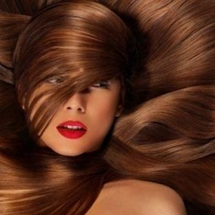 Saçlar parlak ve canlı olabilir