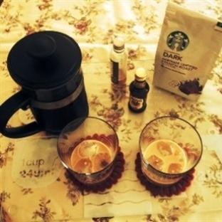 Soğuk Demleme Yöntemi ile Buzlu Kahve