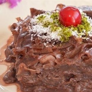 Sütlü Çikolatalı Güllaç