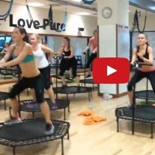 Trambolin Jimnastiği ile Zayıflamak için İzleyin