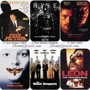 Tüm Zamanların En İyi  Suç, Gerilim Filmleri