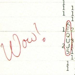 "Uzaydan Alınan ""Wow"" Sinyali (1977)"