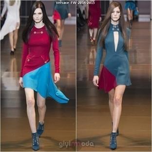 Versace Sonbahar Kış Defilesi - 2014-2015