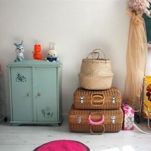 Vintage Stil Çocuk Odası Örnekleri