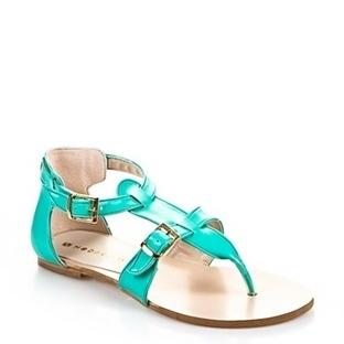 Yeşil Yazlık Bayan Ayakkabı Modelleri