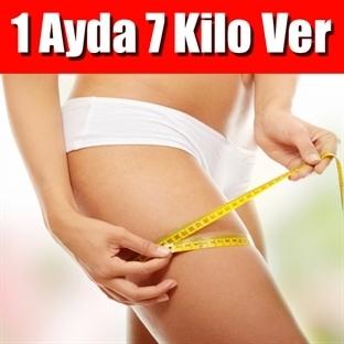 1 Ayda 7 Kilo Verdiren Sağlıklı Diyet