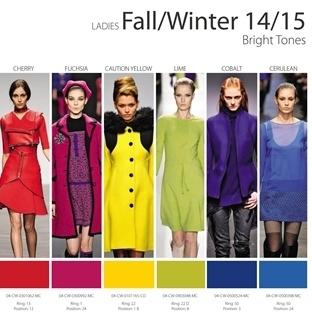 2014-2015 Sonbahar/Kış Modasının En Trend Renkleri